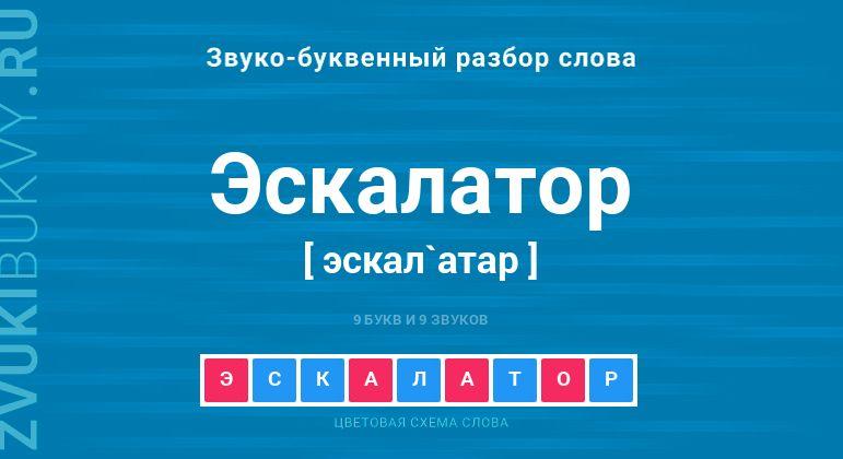Фонетический разбор слова элеватор приводная станция подвесная конвейера